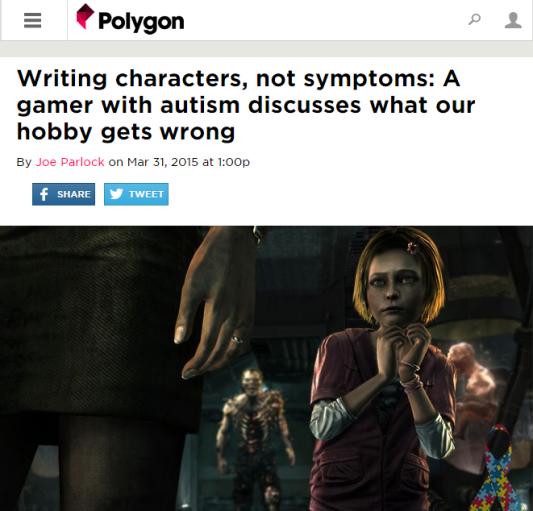 autism game studies 101